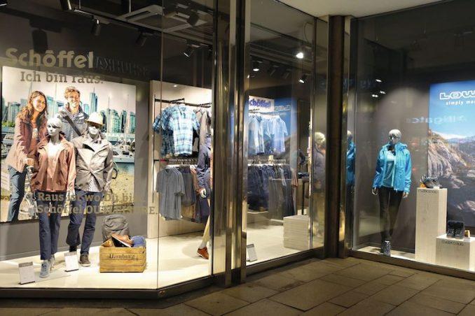 schnelle Farbe attraktiver Stil süß Schöffel-LOWA-Store in Hamburg – FASHIONTODAY