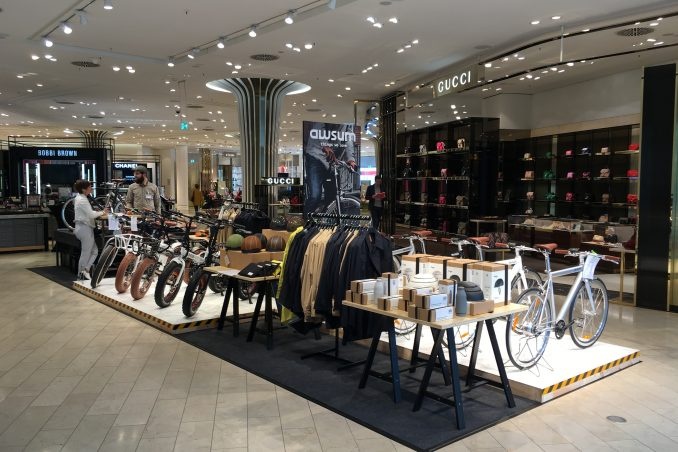 awsum Concept Store: Pop up Fläche im Breuninger Düsseldorf
