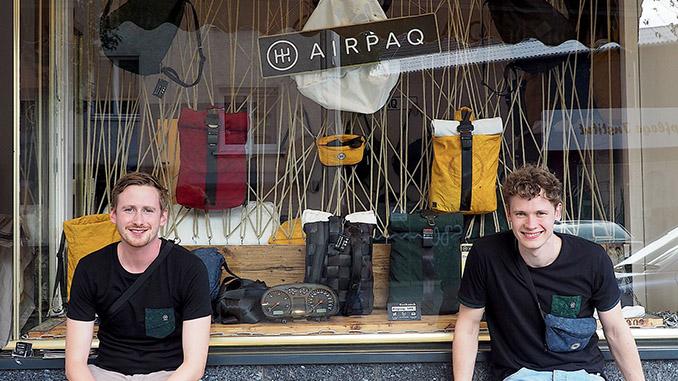 Airpaq nimmt gebrauchte Rucksäcke zurück