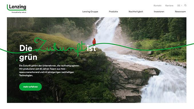 Lenzing bietet digitale Lieferkette an