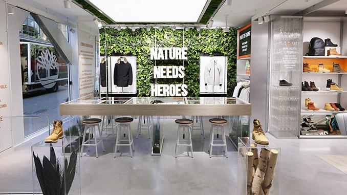 Timberland® eröffnet ersten Purpose Led Flagship Store