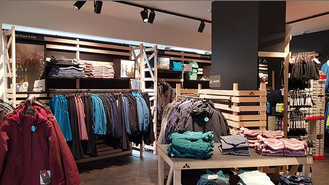 VAUDE: neuer Store in Gent