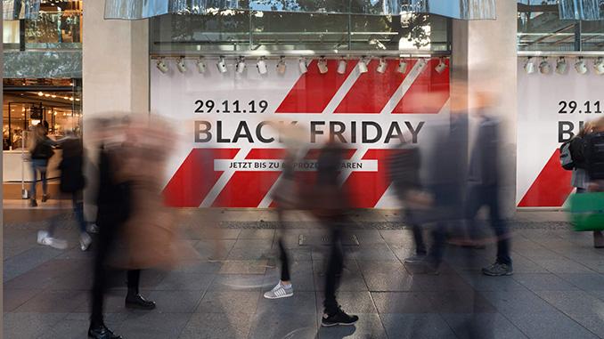 Black-Friday-Wochenende Nachfrageplus von 7,7 Prozent