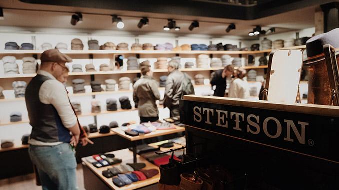 Stetson: Neuer Store in Hamburg