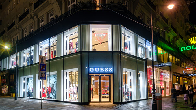 GUESS?: Flagship Store in Wien