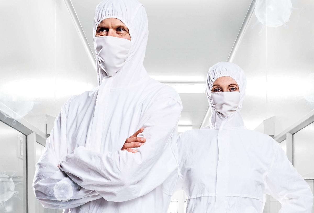 Pionier Workwear: Mundschutz-Masken und Hygiene-Overalls