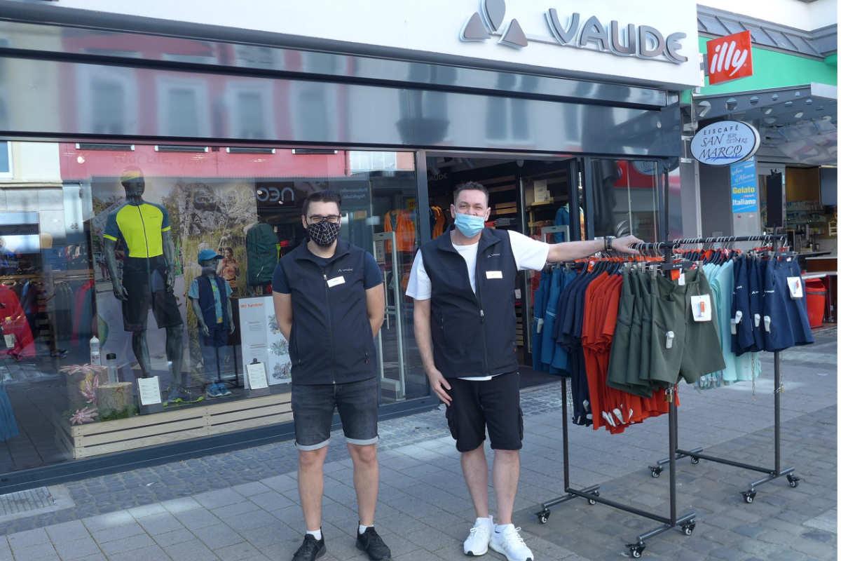 Neuer VAUDE Store in Kaiserslautern