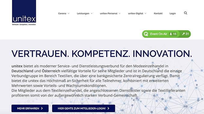 unitex: gewinnt weitere Mitglieder