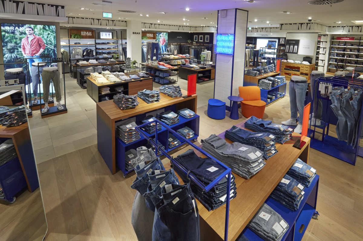 BRAX: Shopfläche bei Breuninger