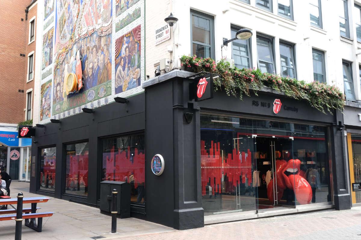 Flagship-Store der Rolling Stones eröffnet