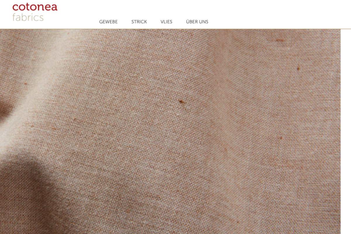 Cotonea lanciert B2B-Webshop