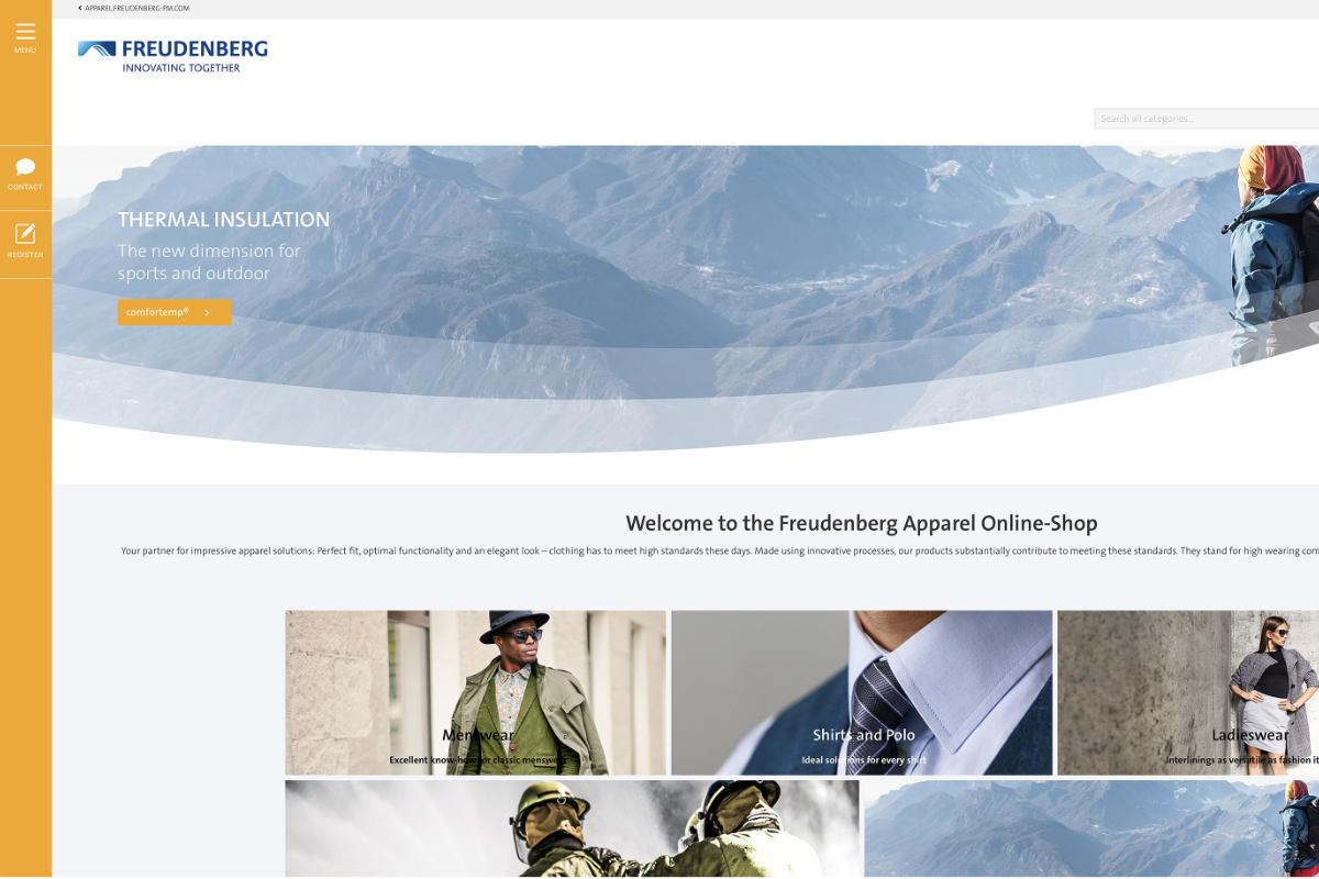 Freudenberg neuer Online-Shop
