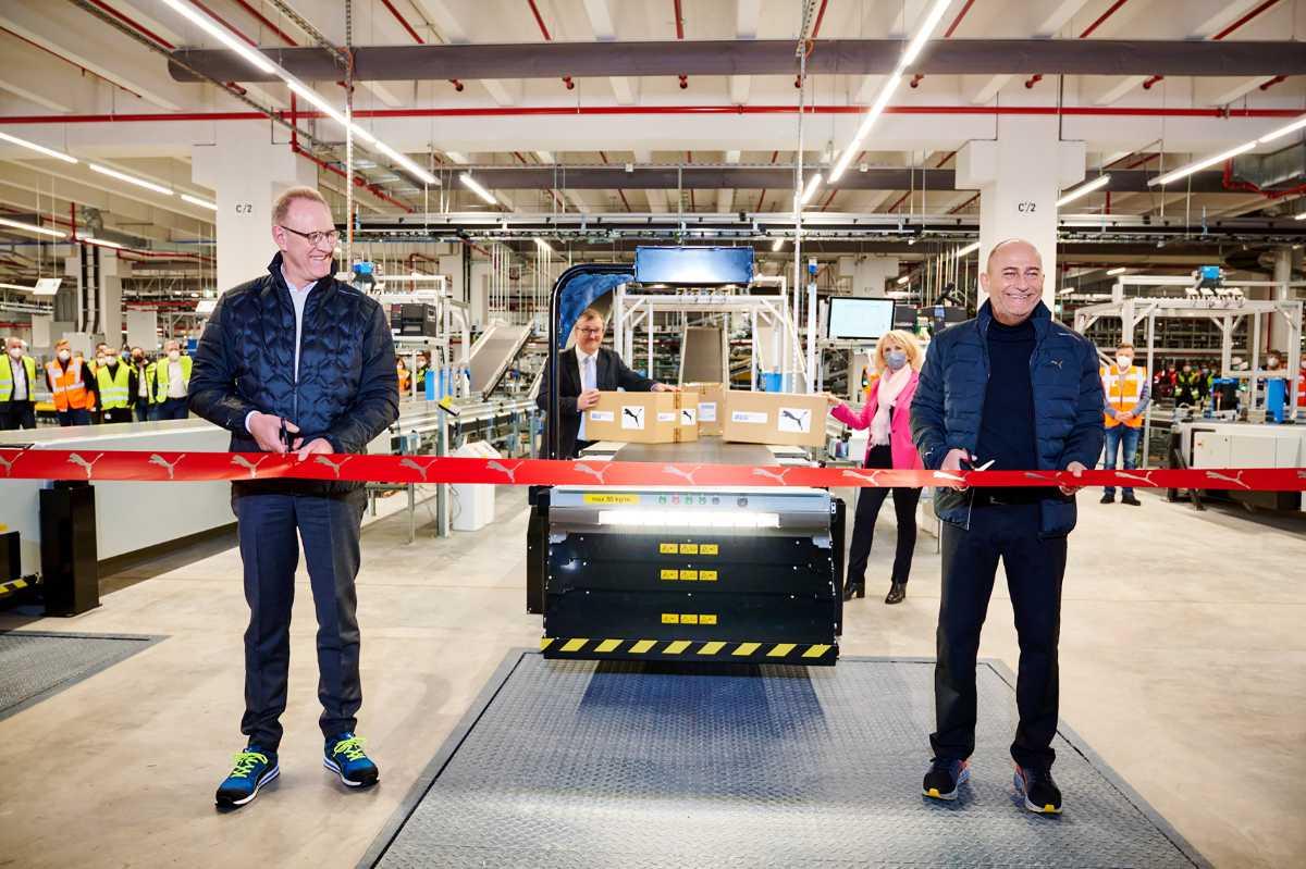 PUMA: Europäisches Logistikzentrum läuft an