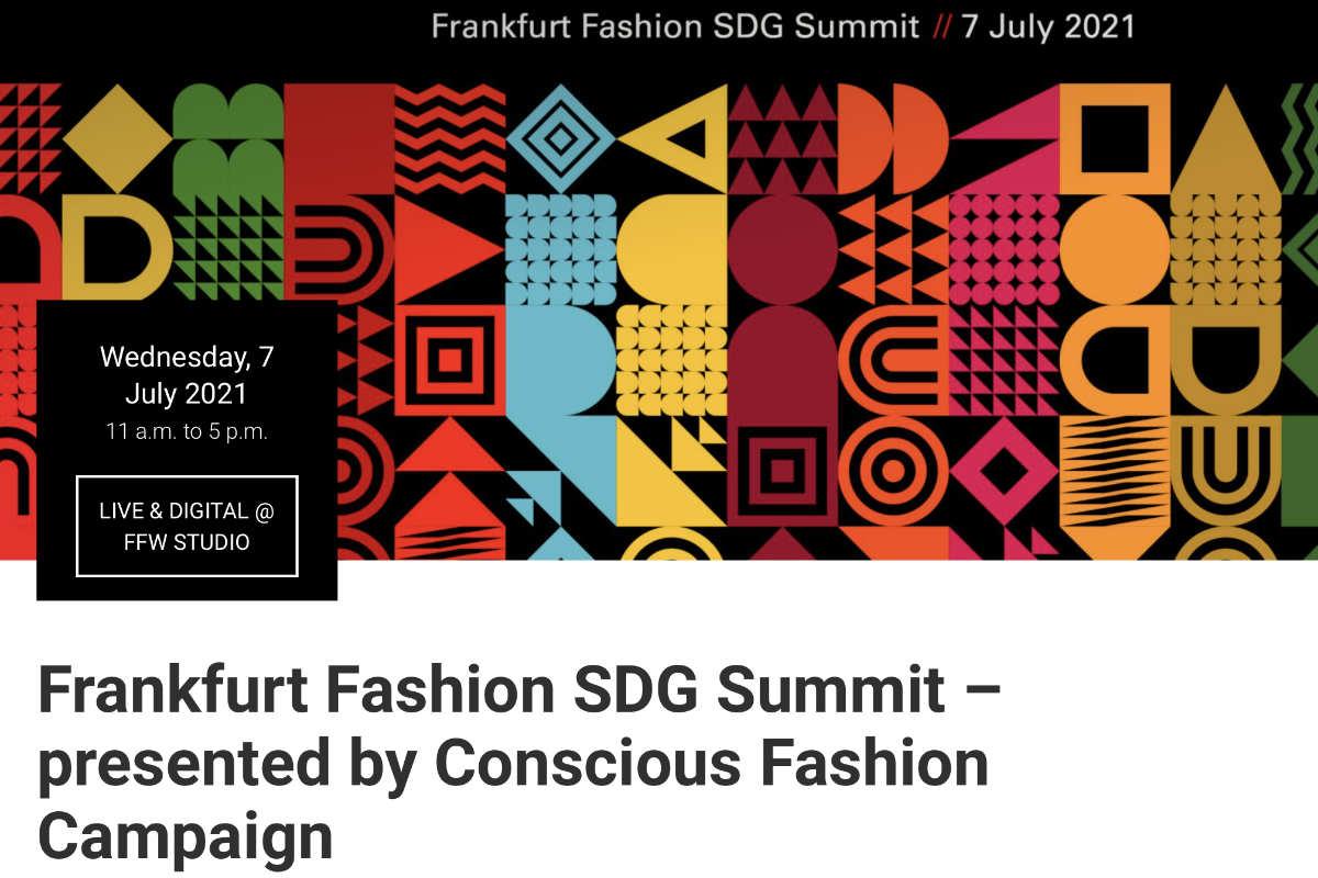 Frankfurt Fashion SDG Summit kommt