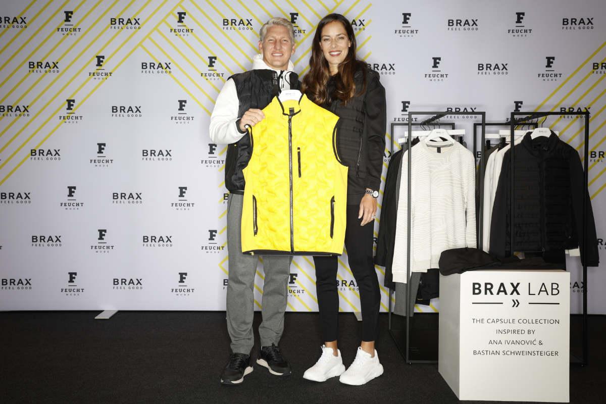 BRAX-Markenbotschafter beim Modehaus Feucht