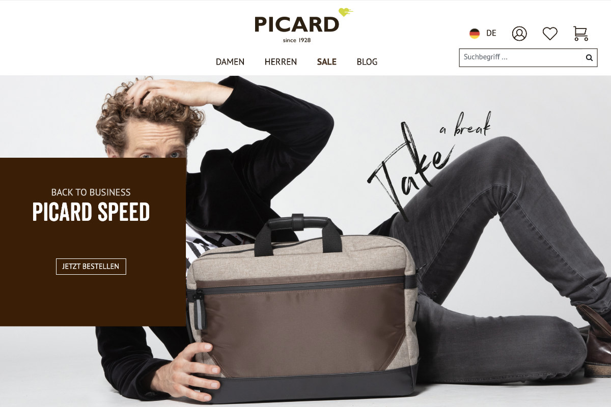 PICARD: Relaunch für Onlineshop